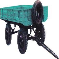 کفی تراکتور | تریلی کفی | تریلر 4 چرخ با سیستم فرمان سیبکی