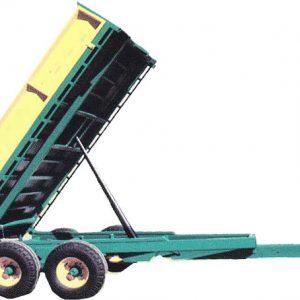 مشخصات فنی ظرفیت 4 تن سایز لاستیک 700*16 طرز تخلیه از عقب 45 درجه ابعاد 190cm*290cm*50cm اندازه جک 70 cm